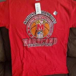 Vintage 2006 Maryland national championship tee